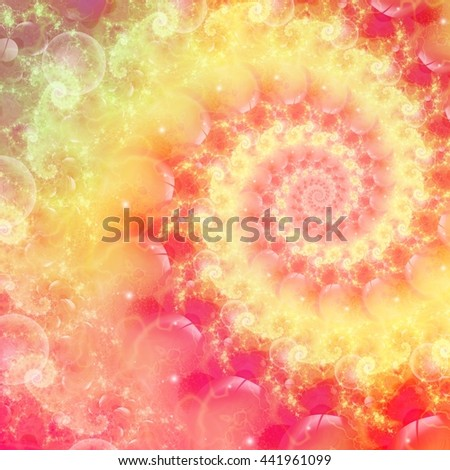 Painting background pattern for creative graphic design. Abstract fractal artwork. - stock photo