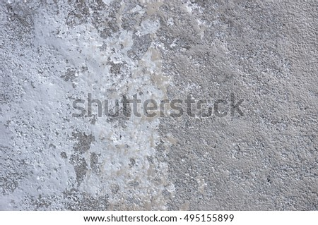 painting beton and cement wall texture close up