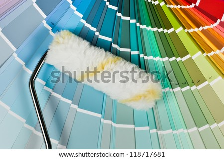 Painting colors - stock photo