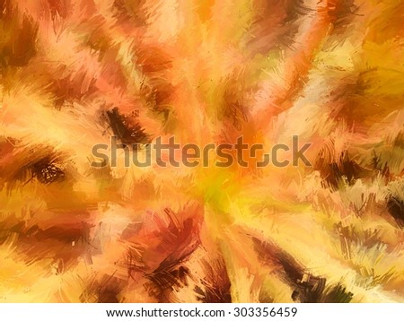 painting effect for abstract and background,vintage color tone