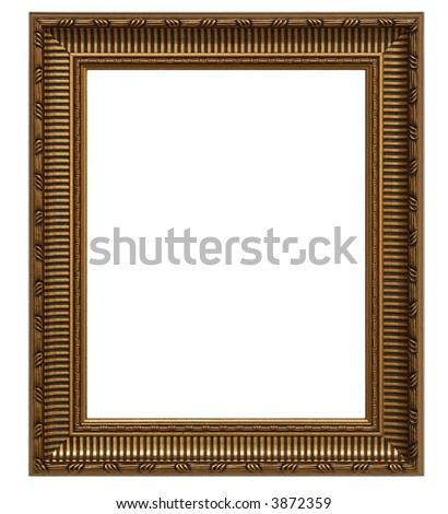 painting frame - stock photo