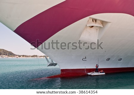 Painting the Cruise Ship
