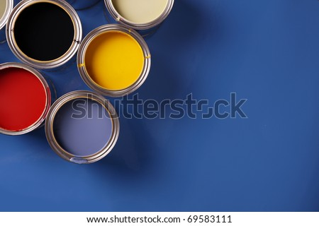 Painting world! - stock photo