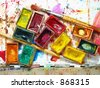 paints - stock photo