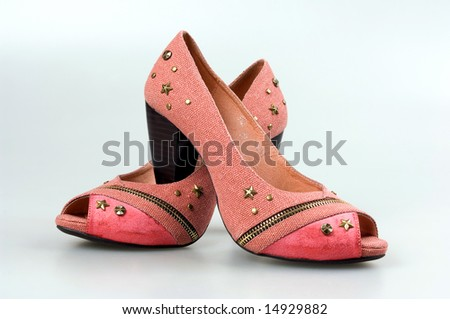 pair footwear isolated on a background