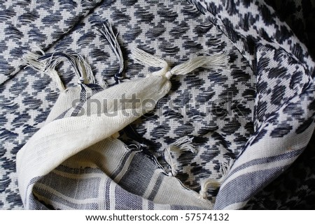 Pair of beautiful Shemagh - stock photo
