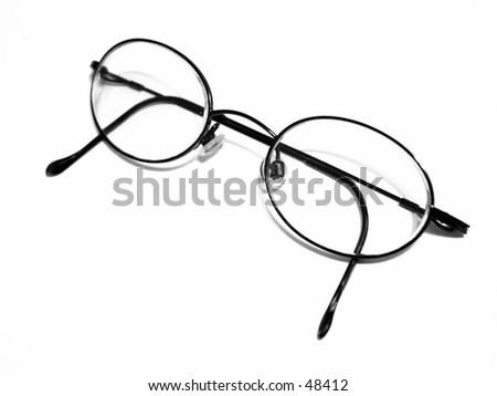 Pair of eyeglasses - stock photo