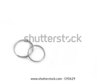 Pair of Rings - stock photo