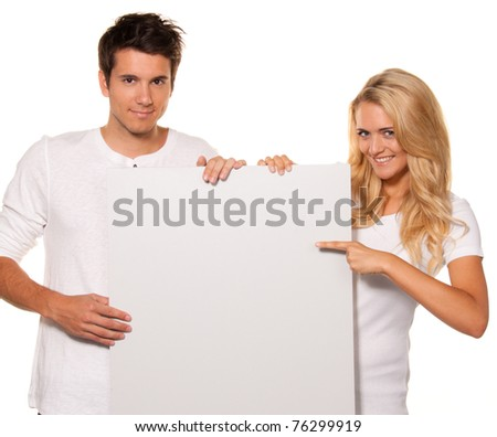 Pair with an empty poster to advertise the opening and actions - stock photo