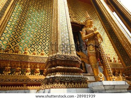 Palace guard - stock photo
