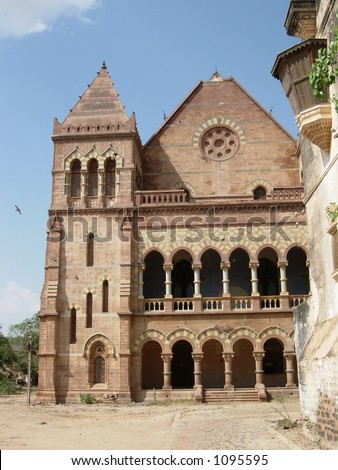 palace in bhuj kutch india