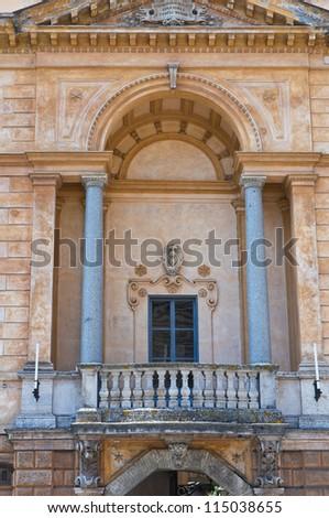 Palace of Opera del Duomo. Orvieto. Umbria. Italy. - stock photo