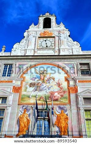Palace of St George (Palazzo San Giorgio), Genoa, Italy - stock photo
