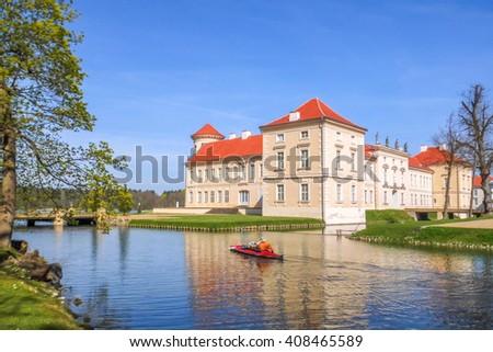 Palace, Rheinsberg,  - stock photo