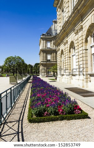 Palais Luxembourg, Paris, France - stock photo