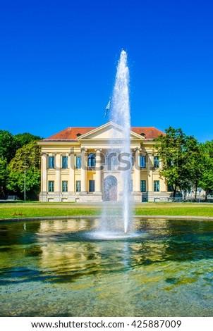 Palais of Prince Charles - prinz Carl - Munich Bavaria, Germany - stock photo