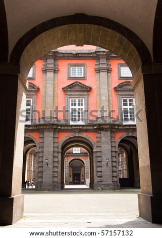 Palazzo Reale di Capodimonte in Napoli, Italy - stock photo