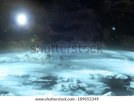Pale Atmosphere - - stock photo