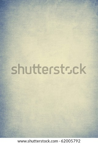 pale blue vintage paper background - stock photo