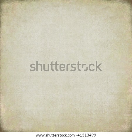 pale painted canvas textured background - stock photo