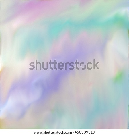 Pale pastel watercolor abstract digital painting. - stock photo