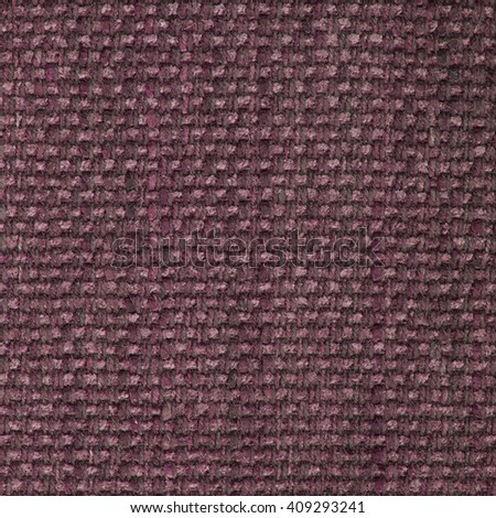Pale violet red fabric texture. Close up, top view. - stock photo