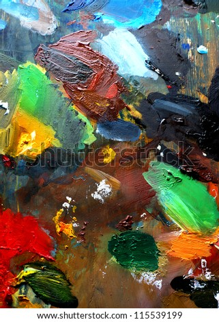 palette, palette, texture, background, abstract, - stock photo