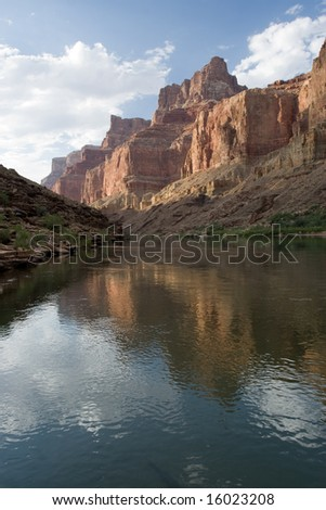 Palisades of the Desert - Grand Canyon - stock photo