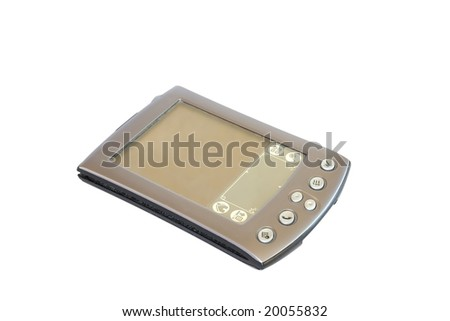 Palm PDA organizer - stock photo