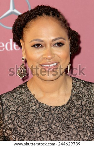 PALM SPRINGS, CA - JAN 3: Ava DuVernay arrives at the 2015 Palm Springs International Film Festival Awards Gala at the Palm Springs Convention Center on January 3, 2015 in Palm Springs, CA. - stock photo