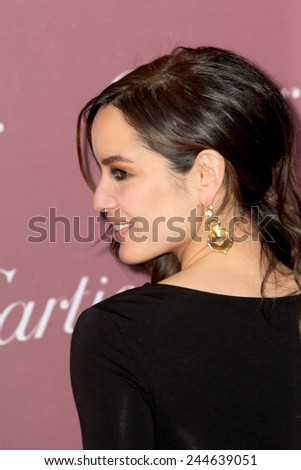 PALM SPRINGS, CA - JAN 3: Berenice Marlohe arrives at the 2015 Palm Springs International Film Festival Awards Gala at the Palm Springs Convention Center on January 3, 2015 in Palm Springs, CA. - stock photo