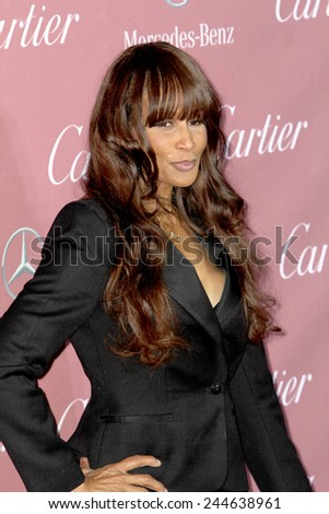 PALM SPRINGS, CA - JAN 3: Beverly Johnson arrives at the 2015 Palm Springs International Film Festival Awards Gala at the Palm Springs Convention Center on January 3, 2015 in Palm Springs, CA. - stock photo
