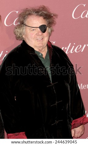 PALM SPRINGS, CA - JAN 3: Dale Chihuly arrives at the 2015 Palm Springs International Film Festival Awards Gala at the Palm Springs Convention Center on January 3, 2015 in Palm Springs, CA. - stock photo