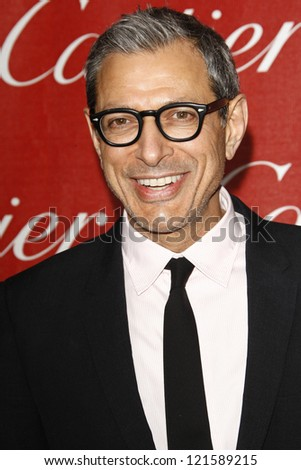 PALM SPRINGS, CA - JAN 7: Jeff Goldblum at the 23rd Annual Palm Springs International Film Festival Awards Gala at the Palm Springs Convention Center on January 7, 2012 in Palm Springs, California - stock photo