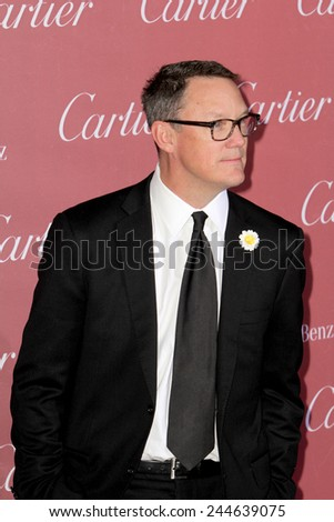 PALM SPRINGS, CA - JAN 3: Matthew Lillard arrives at the 2015 Palm Springs International Film Festival Awards Gala at the Palm Springs Convention Center on January 3, 2015 in Palm Springs, CA. - stock photo