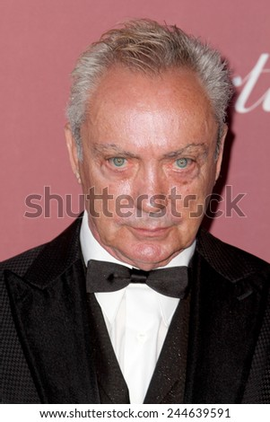 PALM SPRINGS, CA - JAN 3: Udo Kier arrives at the 2015 Palm Springs International Film Festival Awards Gala at the Palm Springs Convention Center on January 3, 2015 in Palm Springs, CA. - stock photo