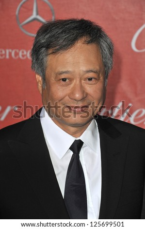 PALM SPRINGS, CA - JANUARY 5, 2013: Ang Lee at the Awards Gala for the 2013 Palm Springs International Film Festival.
