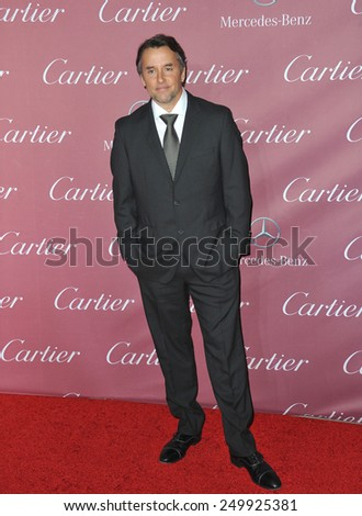 PALM SPRINGS, CA - JANUARY 6, 2015: Director Richard Linklater at the 2015 Palm Springs Film Festival Awards Gala at the Palm Springs Convention Centre.  - stock photo