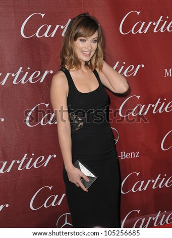 PALM SPRINGS, CA - JANUARY 7, 2012: Olivia Wilde at the 2012 Palm Springs Film Festival Awards Gala at the Palm Springs Convention Centre. January 7, 2012  Palm Springs, CA