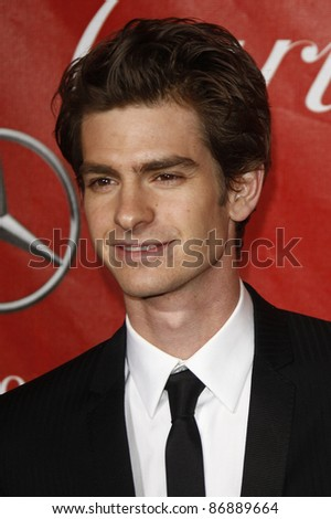 PALM SPRINGS - JAN 8: Andrew Garfield at the 2011 Palm Springs International Film Festival Awards Gala held at the convention center in Palm Springs, California on January 8, 2011 - stock photo