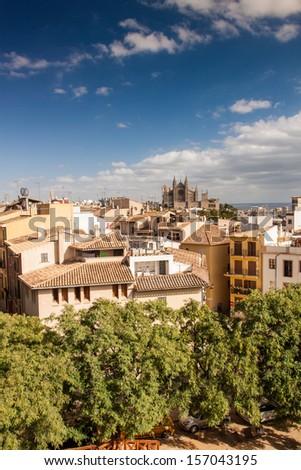 Palma de Mallorca, Balearic Islands, Spain - stock photo