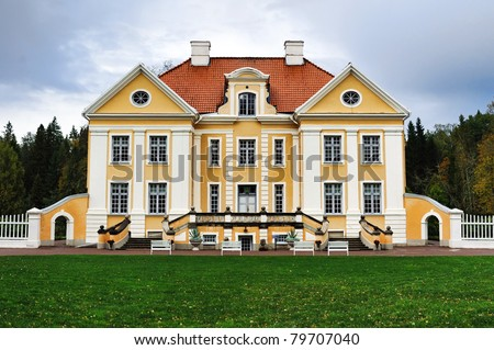 Palmse manor, Estonia - stock photo