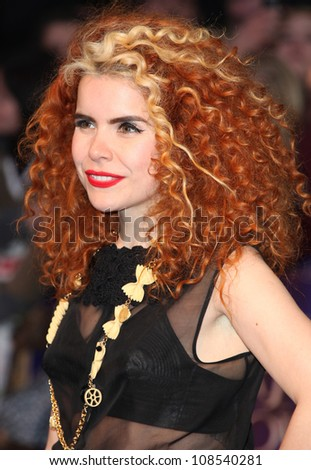 Paloma Faith arriving for the European Premiere of 'Dark Shadows' at Empire Leicester Square, London. 09/05/2012 Picture by: Alexandra Glen / Featureflash
