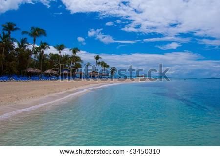 Palomino island Puerto Rico - stock photo