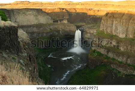 Palouse falls state park, washington, usa