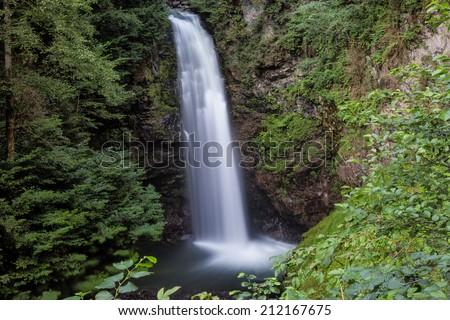 Palovit Waterfall - stock photo