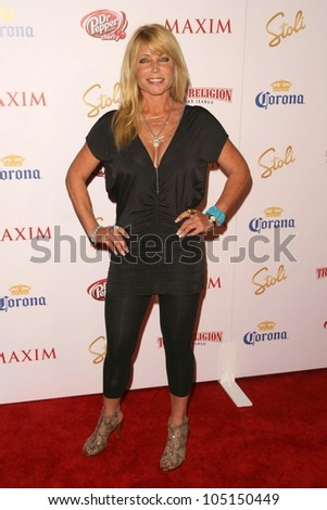 Pamela Bach at the 2009 Maxim 100 Party. Barker Hanger, Santa Monica, CA. 05-13-09