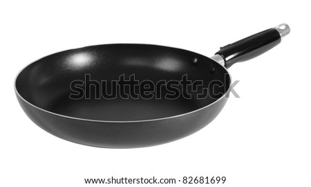 Pan. Isolated - stock photo