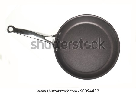 pan isolated on white - stock photo
