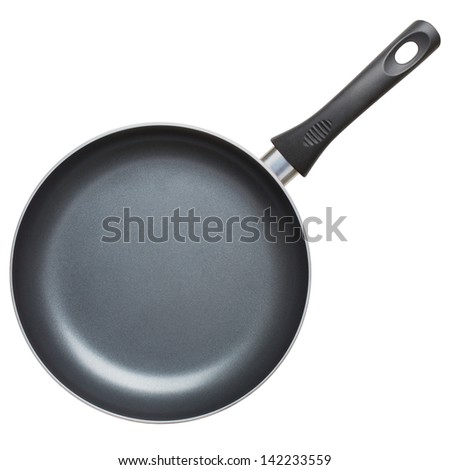 pan isolated on white background. Clipping Path - stock photo